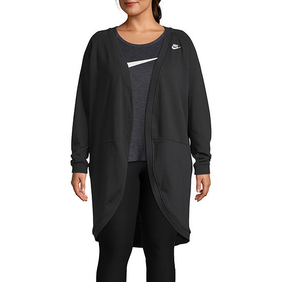 f59e30f4f Nike Open Front Cardigan - Plus - JCPenney