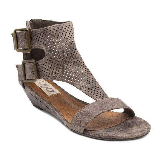 Sugar Womens Wonah Wedge Sandals