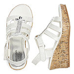Arizona Little Kid/Big Kid Girls Stacey Wedge Sandals