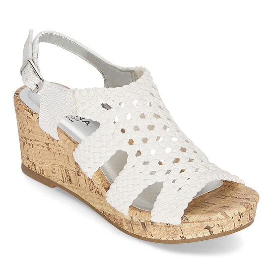 Arizona Little Kid/Big Kid Girls Demi Wedge Sandals