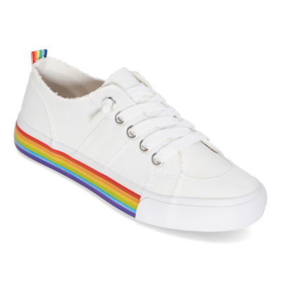Pop Womens Declan Lace Up Sneakers