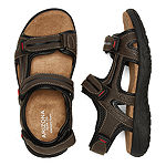 Arizona Big Kids Boys Badger Jr. Adjustable Strap Flat Sandals