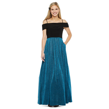 80s Dresses | Casual to Party Dresses Morgan  Co. Sleeveless Ball Gown-Juniors $89.99 AT vintagedancer.com