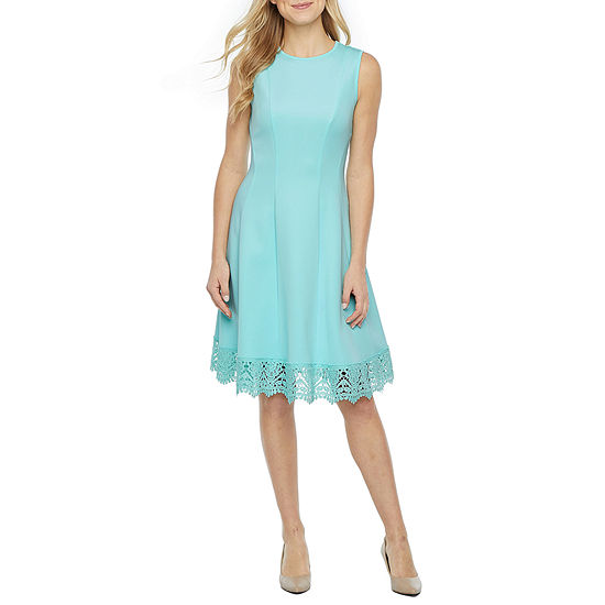 DR Collection Sleeveless Fit & Flare Dress