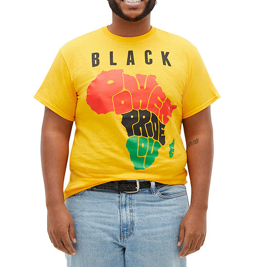 Black History Month Unisex Adult Crew Neck Short Sleeve Graphic T-Shirt