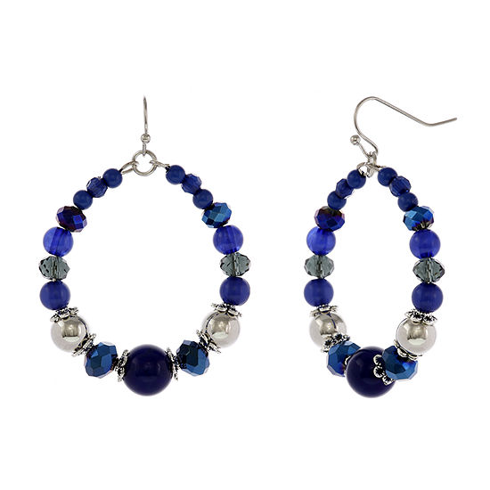 Mixit Blue Drop Earrings