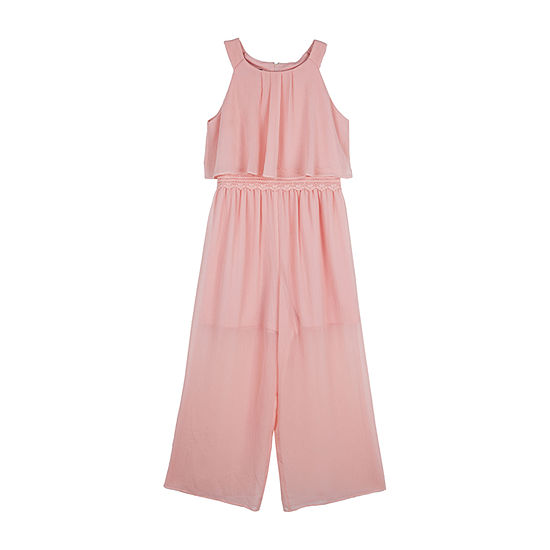 by&by girl Big Girls Sleeveless Jumpsuit