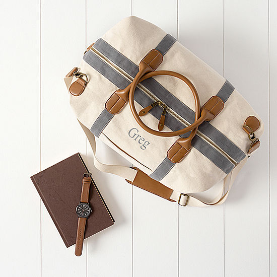 Cathy's Concepts Personalized Oversized Transport Weekender