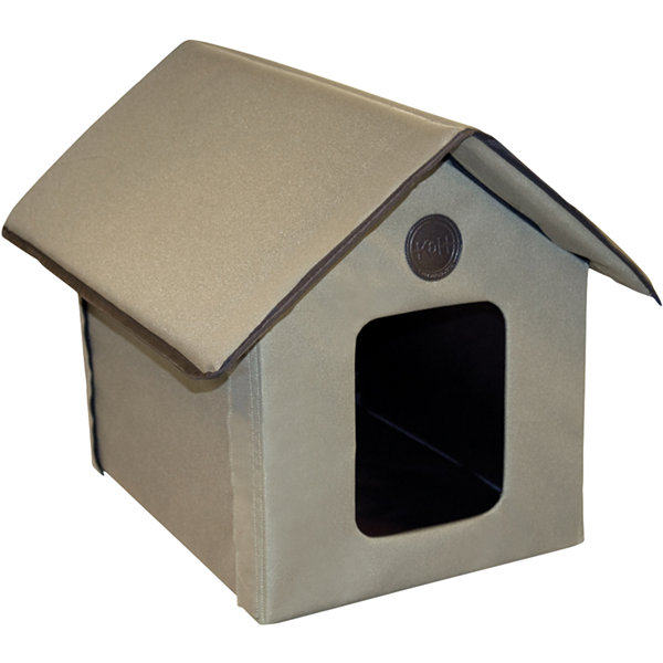 "K & H Manufacturing Outdoor Unheated Kitty House 22"" L X 18"" W X 17"" H"