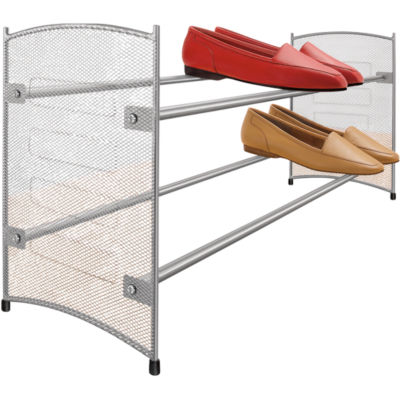 LYNK® Expandable Mesh Shoe Rack