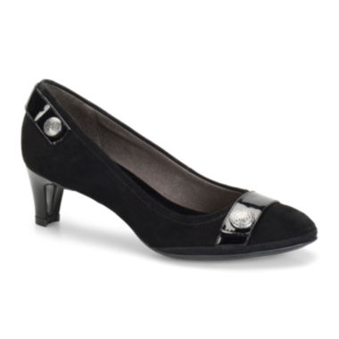 Eurosoft™ Tahlia Leather Pumps