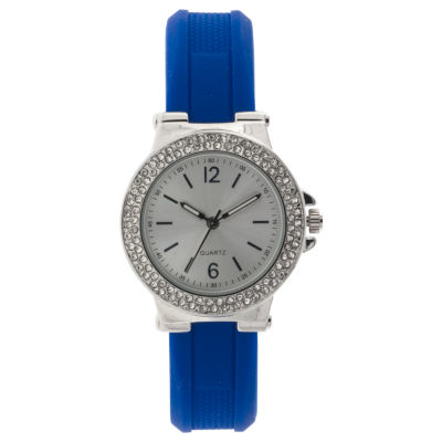 Mixit Womens Blue Strap Watch-Jcp2979sbl