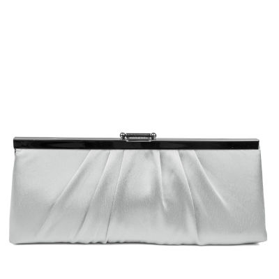 Gunne Sax by Jessica McClintock Pleated Clutch Evening Bag