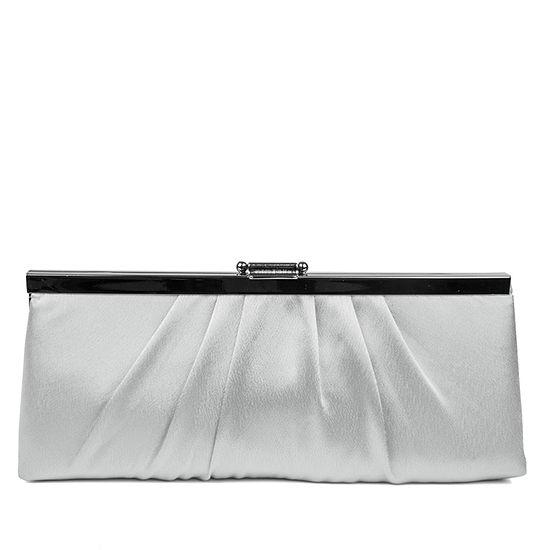Gunne Sax by Jessica McClintock Pleated Clutch Evening Bag