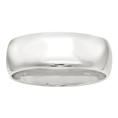 Personalized Mens 8mm 14K Gold Band