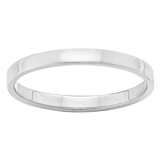 Womens 25mm 14k Gold Wedding Band