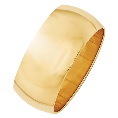 Personalized Womens 14K Gold Band