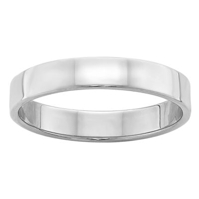 Womens 4mm 14K Gold Band