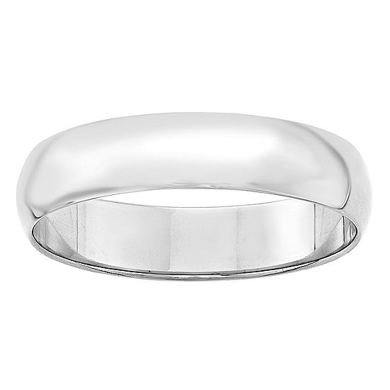 Personalized Mens 5MM 14K Gold Wedding Band