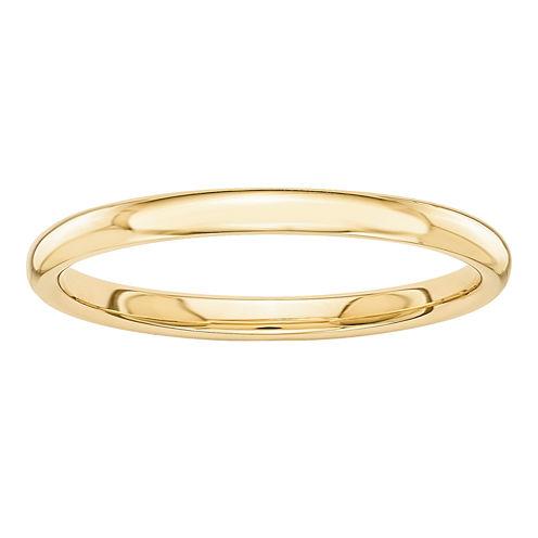Womens 14K Gold Wedding Band