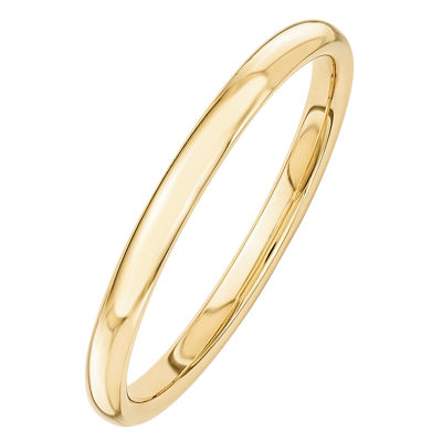 Womens 14K Gold Band
