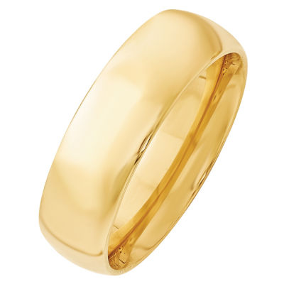 Personalized Womens 14K Gold Wedding Band