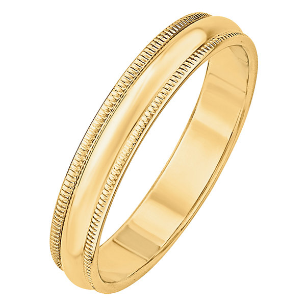 Jcpenney Gift Registry Wedding: Mens 14K Gold Wedding Band