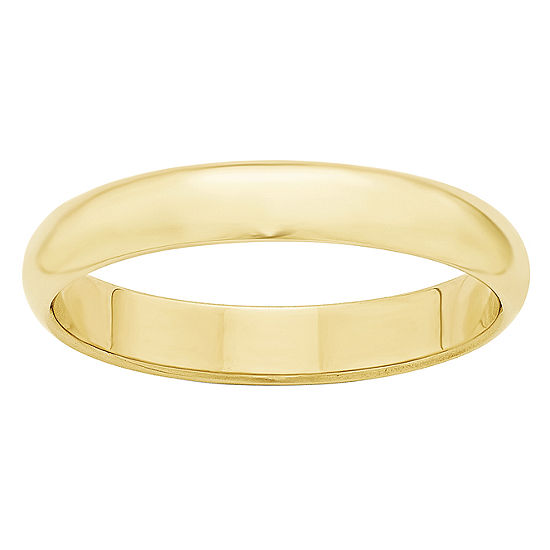 4MM 10K Gold Wedding Band