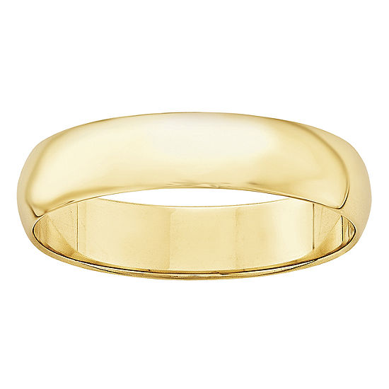 5MM 10K Gold Wedding Band