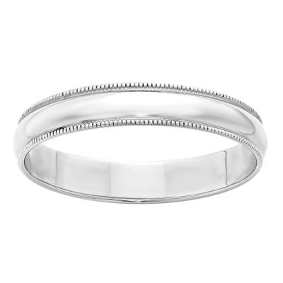 Womens 4mm 10K Gold Band