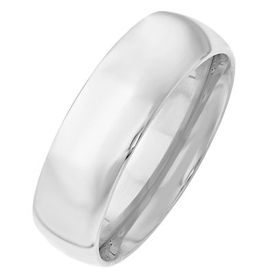 Mens 7mm 10K Gold Band