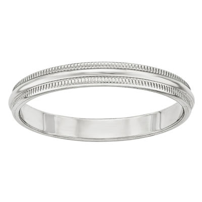 Mens 3mm 14K Gold Band