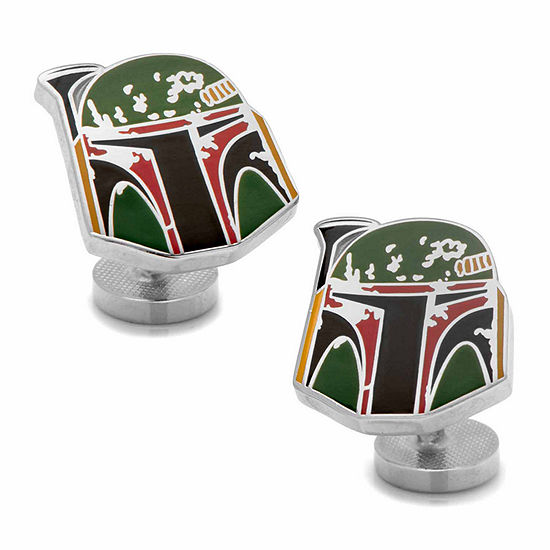 Star Wars® Boba Fett Distressed Helmet Cuff Links