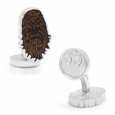 Star Wars® Chewbacca Typography Cuff Links