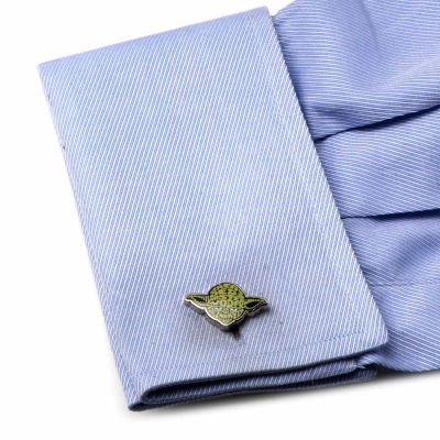 Star Wars™ Yoda Typography Cuff Links