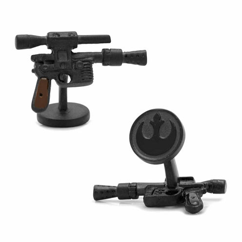 Star Wars® 3D Han Solo DL-44 Blaster Cuff Links