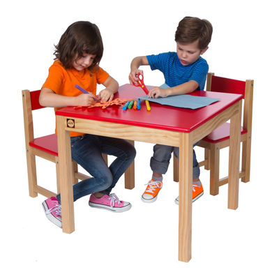 ALEX Toys Artist Studio Wooden Table and Chair Set
