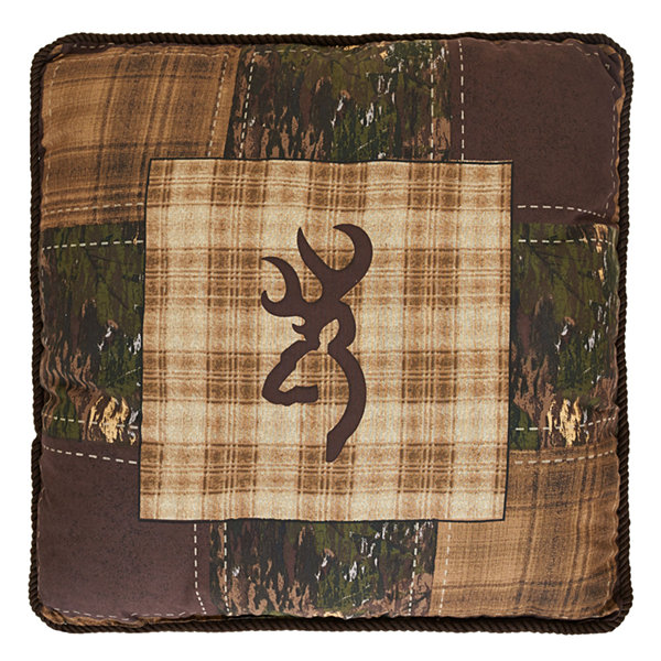 Browning Country Square Throw Pillow