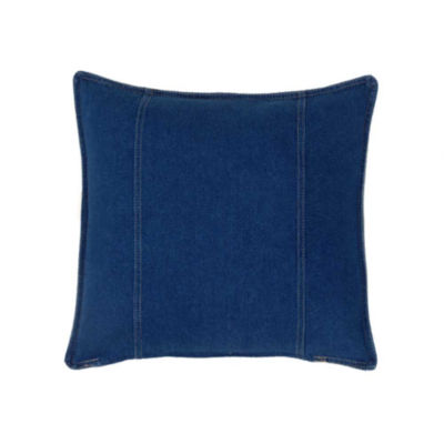 Karin Maki American Denim Throw Pillow