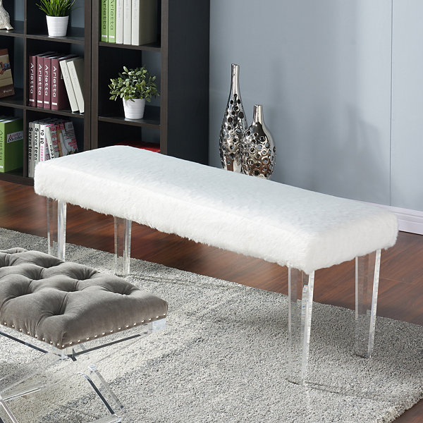 Gia Fabric Bench