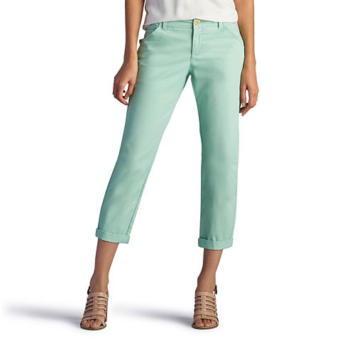 Lee Cropped Pants-Petites