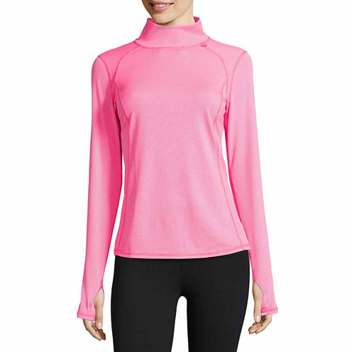 Xersion™ Mock Neck Pullover
