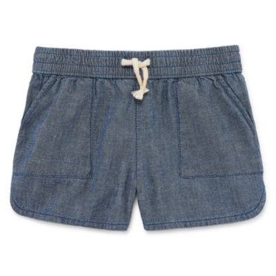 Okie Dokie Poplin Shorts - Toddler Girls