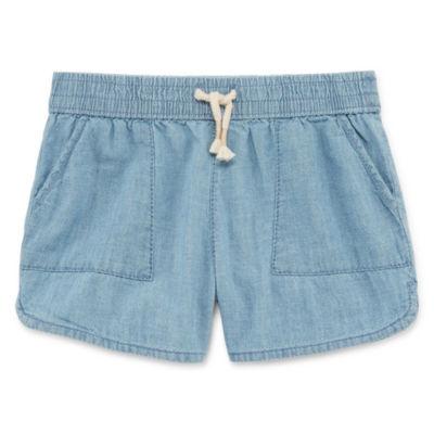 Okie Dokie Poplin Shorts - Toddler Girls