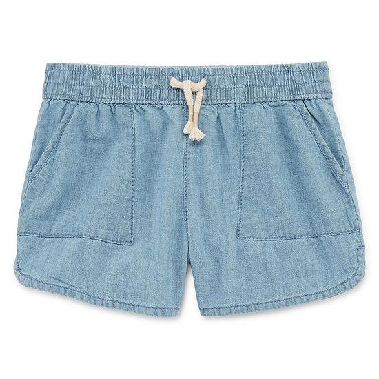Okie Dokie Girls Bermuda Short - Toddler