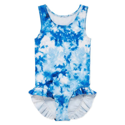 City Streets Tie Dye One Piece Swimsuit Toddler Girls