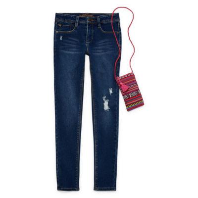 Wallflower Skinny Jean w/Mini Crossbody Bag