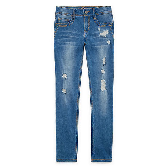 Wallflower Super Soft Skinny Jean Destruction