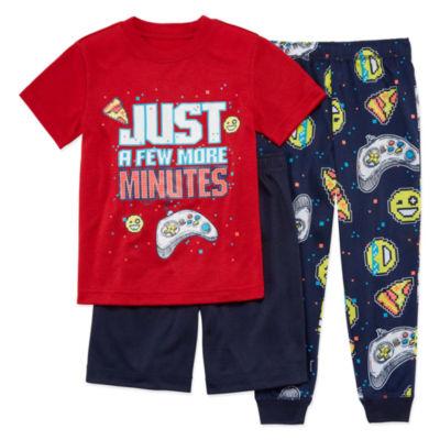 Arizona 3-pc. Pajama Set Boys