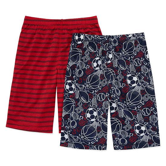 Arizona Boys 2-pc. Shorts Pajama Set Big Kid